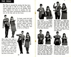 1960s dance - How to do The Frug! <>