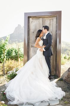 """Oh my gracious, this dress.This custom designed Galia Lahav dress is what we all dream of, and in the words of the Bride, """"I have never felt more beautiful than the moment Derek opened his eyes and saw me in it for the first time. I will never forget the smile on his face or […]"""