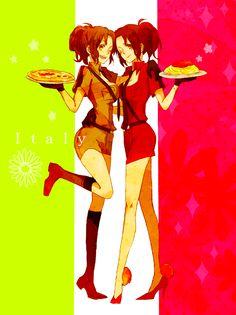 Tags: Anime, Fanart, Axis Powers: Hetalia, Pixiv, Axis Power Countries