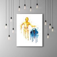 R2D2 And C3PO Star Wars Kids Room Poster, Star Wars C3PO R2D2 Art Kids, Star Wars Nursery Watercolor, C3P0 R2D2 Baby Room Decor Teen by PRINTANDPROUD on Etsy https://www.etsy.com/listing/261511758/r2d2-and-c3po-star-wars-kids-room-poster