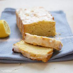 Veganer Zitronenkuchen ganz ohne Ei und Butter