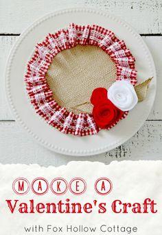 Dollar Tree Valentine's Crafts!!