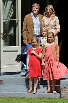 Queen Maxima - The Dutch Royal Family Hold Annual Summer Photo Call