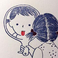 Sweet Drawings, Cartoon Drawings, People Illustration, Children's Book Illustration, Doodle Art, Cute Art, Painting & Drawing, Disney Art, Watercolor Art