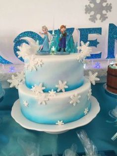 bolo aniversario festa frozen