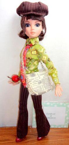 "THAT 70S SHOW ELLOWYNE WILDE Tonner 16"" Doll Mod British Birds Poor Boy Outfit++ - Ellowyne Wilde"