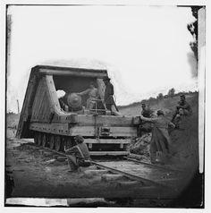 Confederate Rail Gun - American Civil War