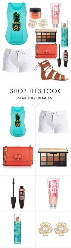 """Untitled #11305"" by ohnadine ❤ liked on Polyvore featuring LC Trendz, Barbour International, Christian Louboutin, NARS Cosmetics, Maybelline, Victoria's Secret PINK, Britney Spears, MAC Cosmetics and plus size clothing"