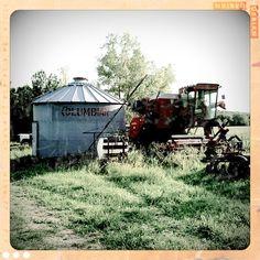 Farm Grain Bin