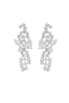 Rent Mini Mosaic Drop Earrings by Kenneth Jay Lane for $5 only at Rent the Runway.