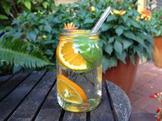 Team this orange-basil-infused-water with an iced TEA AMO Remedy or Revive Speciality Healing Teas for a real flavour invasion of the senses...www.teaamo.com.au