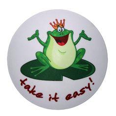 my bumpy, Frog King – take it easy!