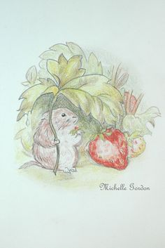 Beatrix Potter, Timmy Willie from The Tale of Johnny Town-Mouse, by Michelle Gordon