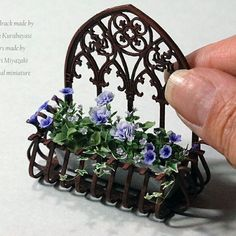 Miniature Flowers ♡ ♡ By Rosy
