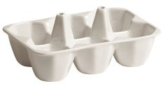 Seletti Estetico Quotidiano 4 Container Food Storage Set (Set of Colour: White Container Food, Food Storage Containers, Fine Porcelain, Porcelain Tile, Painted Porcelain, White Serving Tray, Serving Trays, Modern Tabletop, Pot Rack Hanging