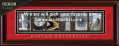 Campus Letter Art is giving away a free Premium Framed print valued at $79.99.  Enter here for your chance to win! #freebie #contest #giveaway