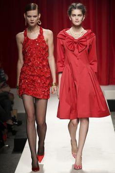MOSCHINO - LE DÉFILÉ PRINTEMPS-ÉTÉ 2014 – FASHION WEEK OF MILAN http://fashionblogofmedoki.blogspot.be