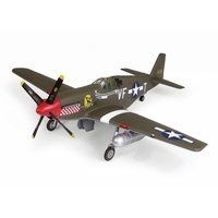 """TOPCO Product 1:32 Ultimate Soldier P-51B/C Mustang """"Shangri-La"""" by TOPCO Product. $31.95. No batteries required..  """"Small parts"""" adult assembly required.  Warning Choking Hazard - Small parts.. With opening canopy revealing detailed cockpit interior, functional extending/retracting landing gear and realistic panel lines, molded plastic construction. For ages 14 and up. Made in China. Not for children under 3 years old. From the Manufacturer                1:32 Sca..."""