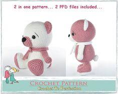 Amigurumi Pattern Bear Amigurumi Animals Amigurumi Crochet