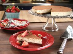 Bobby's Ricotta Cheesecake Recipe from Food Network