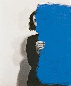 Helena Almeida, Pintura Habitada (1975).