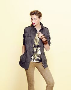 Collection Printemps-Été 2015 - Veste NINA, T-shirt BAMBOU, Pantalon DANY #123paris #mode #fashion