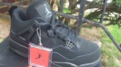 Jordan IV 4 Black Cat Updated AAA Rep* Review HipHopLp.ru (nice gift for every order from now until Xmas)