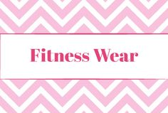 Inspiration for things I want to wear when working out!