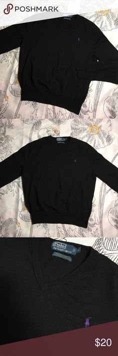 Ralph Lauren Polo 100% Merino Wool Sweater V-Neck Size Women's XL - Condition 9.5/10 excellent Polo by Ralph Lauren Sweaters V-Necks