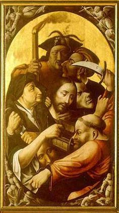 Passion of the Christ - Artist: Hieronymus Bosch Start Date: 1510 Completion Style: Northern Renaissance Religious Images, Religious Art, Hieronymus Bosch Paintings, Visual And Performing Arts, Renaissance Artists, Religious Paintings, Johannes Vermeer, Art For Art Sake, Medieval Art
