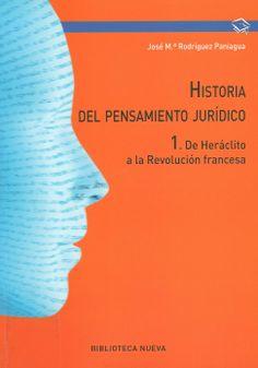 Historia del pensamiento jurídico / José María Rodríguez Paniagua, 2013