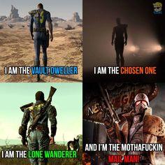 Follow the fallout series