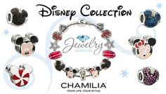 Pandora Jewelry OFF! Its timeless and adorable! Chamilia Jewelry, Pandora Bracelet Charms, Pandora Jewelry, Pandora Beads, Charm Bracelets, Mickey Mouse Jewelry, Disney Jewelry, Cute Jewelry, Jewelry Ideas