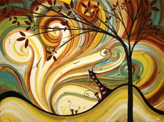 Out West Original Madart Painting Painting by Megan Duncanson - Out West Original Madart Painting Fine Art Prints and Posters for Sale Canvas Art, Canvas Prints, Art Prints, Painting Canvas, Painting Metal, Urban Painting, Painting Prints, Fine Art Amerika, Stefan Zweig