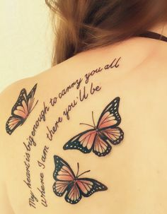 For those so dear to me.. #butterfly #tattoo