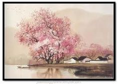 "Yan Jidao(晏几道) , <鹧鸪天> , ""守得莲开结伴游。约开萍叶上兰舟。来时浦口云随棹,采罢江边月满楼。 花不语,水空流。年年拚得为花愁。明朝万一西风动,争向朱颜不耐秋。"""