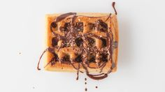 Maple Bacon Salted Chocolate Waffles