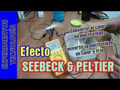 Efecto Seebeck Peltier. Crear electricidad del calor - YouTube