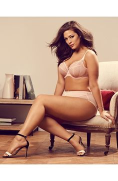 Ashley Graham is the muse and the patron saint of plus-sized women everywhere.