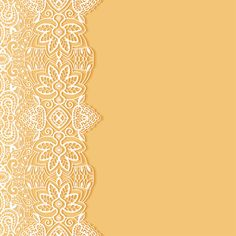White lace with colored background vector set 02
