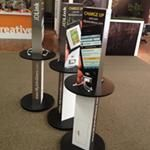 Custom built cell phone charging stations