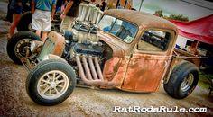 Rat Rods Rule!!!, It's Big, it's Bad, it's Blown… just the way me...