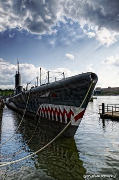 Submarine USS Torsk - Baltimore Harbour, Maryland, USA by lyon photography