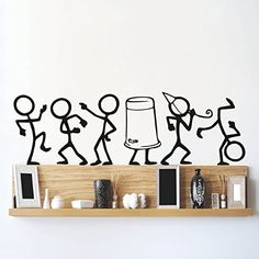 Wall sticker for living room