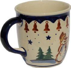 Amazon.com: Polish Pottery Coffee Mug: Kitchen & Dining