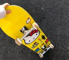 Skateboard Design, Skateboard Decks, Skate 4, Skate Board, Hello Kitty, Cool Skateboards, Skate Style, Sailor Jupiter, Indie Kids