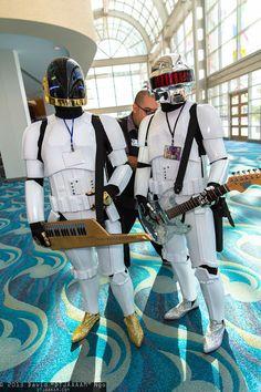 Daft Punk troopers