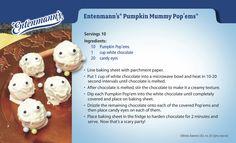 The Entenmann's Pumpkin Mummy Pop'ems