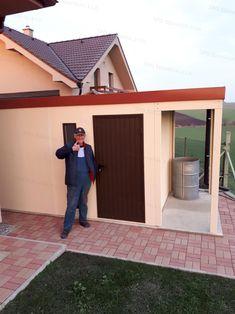 Montované záhradné domčeky na náradie | GARDEON Banks, Garage Doors, Shed, Outdoor Structures, Outdoor Decor, Home Decor, Decoration Home, Room Decor, Home Interior Design
