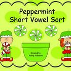 Peppermint short vowel sort (free!!)